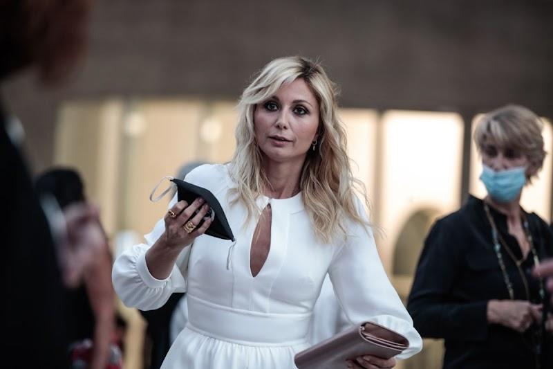 Anna Ferzetti Clicks at Nastri D'Argento Awards in Rome 6 Jul -2020