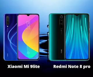 Xiaomi redmi note 8 pro vs xiaomi mi 9 lite