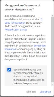 Cara Membuat Kelas di Google Classroom Untuk Guru