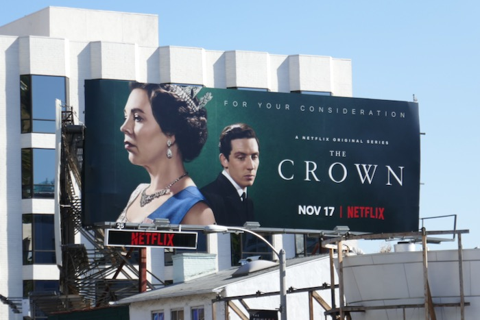 Crown season 3 consideration billboard