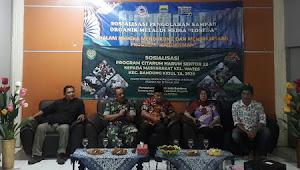 Kolonel Asep Rahman T. (Dansektor 22) Viralkan Pemakaian Loseda di-Kelurahan Wates