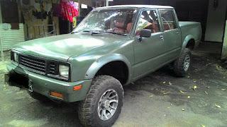 LAPAK MOBKAS LAWAS : Jual Chevrolet 1988 Double Cabin Rare - TANGERANG