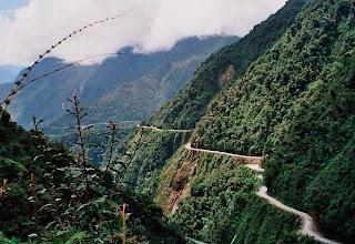 La Carretera de la Muerte , Bolivia