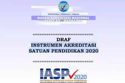 Download Instrumen Akreditasi Satuan Pendidikan IASP 2020 Jenjang SMP/MTs