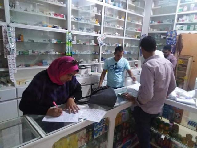 استمرار الحملات المسائية علي المنشآت الطبية بكوم حمادة