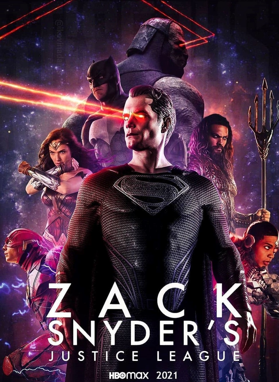 Liga da Justiça: Snyder Cut - Poster