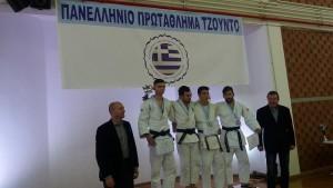 3 μετάλλια για τον Α.Σ Ηρακλής Ερμιονίδας στο Πανελληνιο Πρωτάθλημα Τζούντο