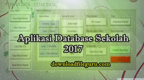 Aplikasi Data Base Sekolah 2017