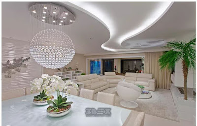 gypsum board designs for living room false ceilings