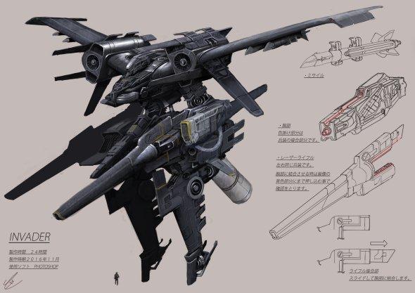 Takeshi Yoshida artstation arte ilustrações fantasia ficção científica sombria games