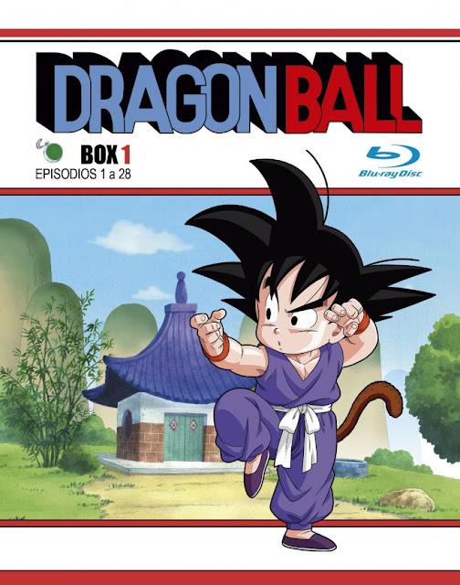 edición Blu-Ray de Dragon Ball.