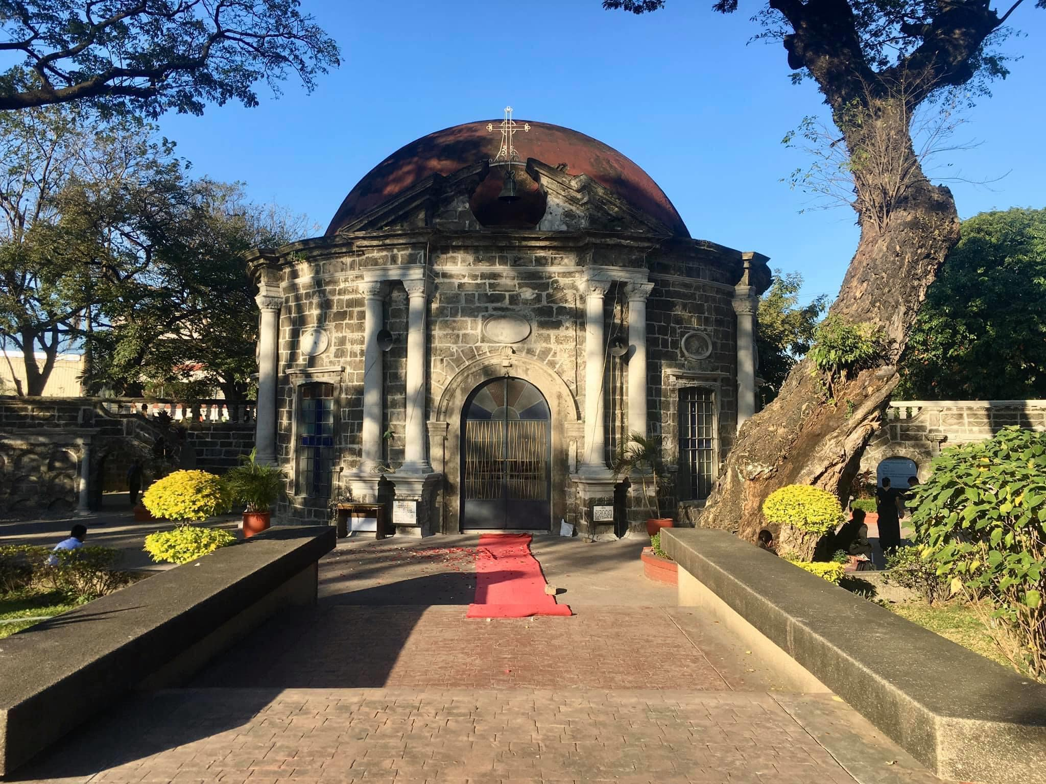 Mortuary chapel of Paco Cemetery, now known as St. Pancratius Chapel Photo credits to Lorenzo Bukas