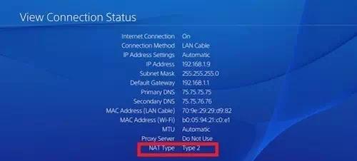 Cara Mengubah Tipe NAT PS4-1