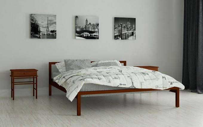 Кровать металлическая Вента 80х190/200 ТМ Мадера