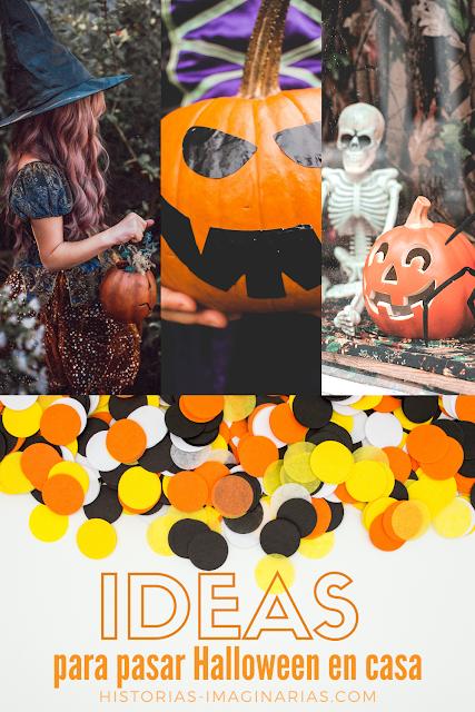 Ideas para pasar Halloween en casa