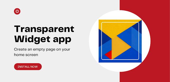 Transparent Widget - Apply invisible widgets