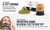 """Logo Concorso """" Con Corona vinci un anno di spesa"""" e 15 kit Estate! Come partecipare"""
