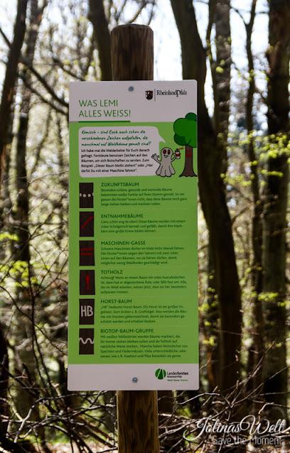 Zeichen der Waldarbeiter