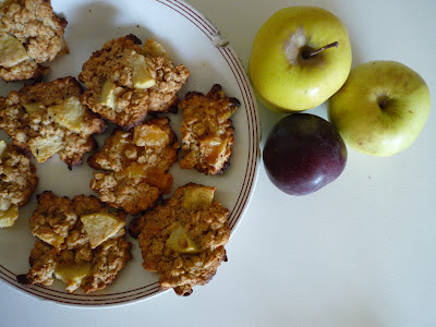 galletas avena manzana