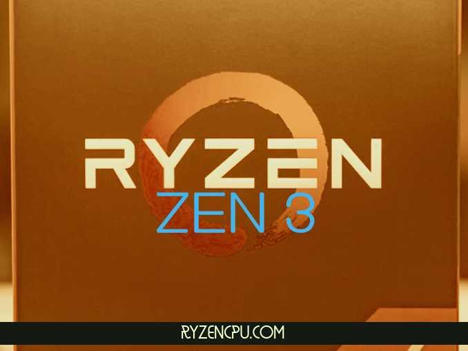 AMD Ryzen Zen 3