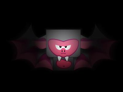 Baby Bat paper toy