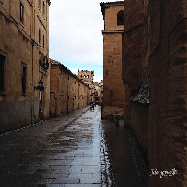 Salamanca rincones calle Compañía