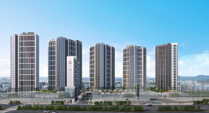 대구2호선 역세권, '힐스테이트 만촌역' 사이버 모델하우스 오픈