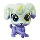 Littlest Pet Shop Series 5 Lucky Pets Glow-in-the-Dark Eyes Fern (#No#) Pet