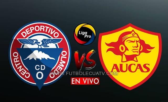 Olmedo y Aucas se enfrentan en vivo a partir de las 17h00, continuando la fecha catorce del campeonato ecuatoriano, siendo transmitido por GolTV Ecuador a efectuarse en el Estadio Fernando Guerrero. Siendo el juez principal Juan Andrade.