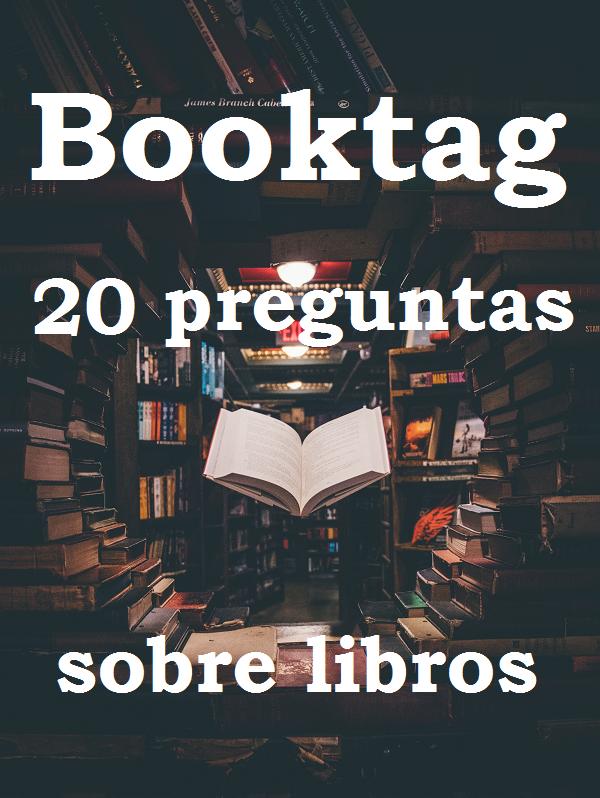 Book tag: 20 preguntas sobre libros