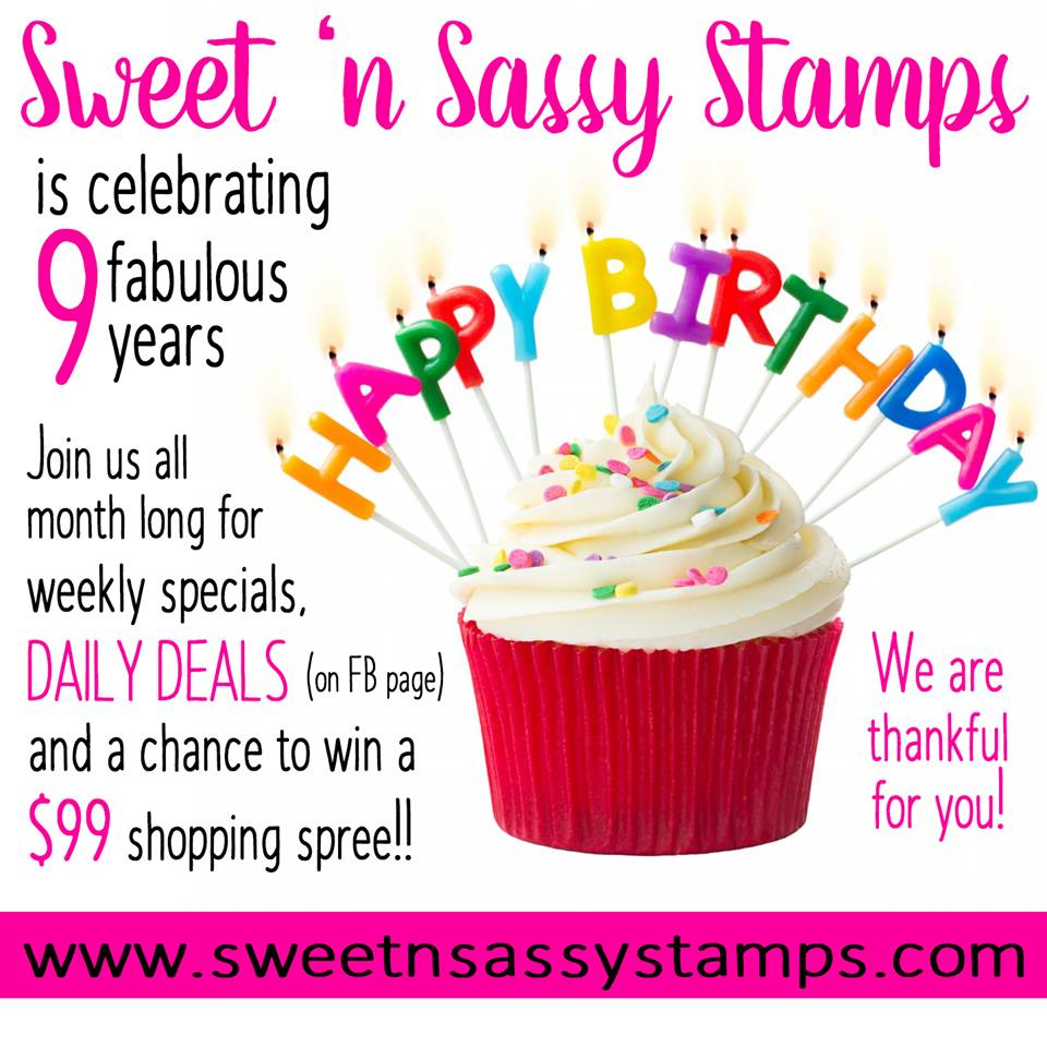 Sweet N Sassy Stamps Faith Quotes And A Birthday Celebration
