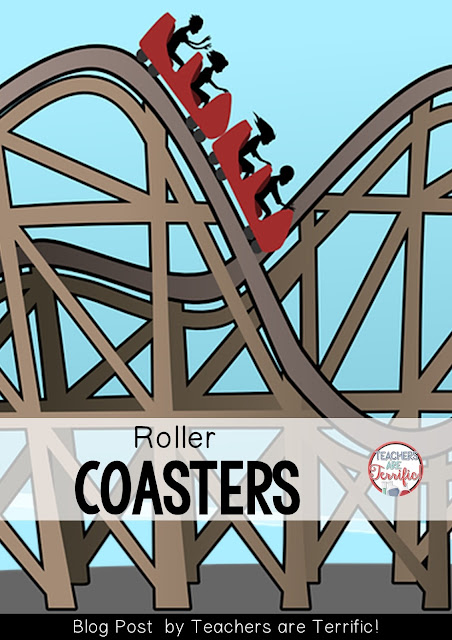 STEM Challenges: Roller coasters are kid favorites in STEM class. Check this blog post for four versions of roller coasters!