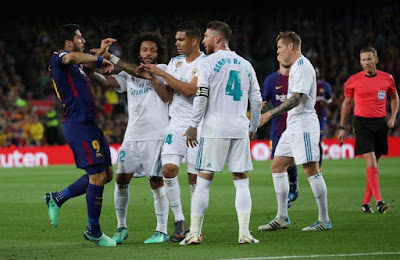 Highlight Barcelona 2-2 Real Madrid, 6 Mei 2018