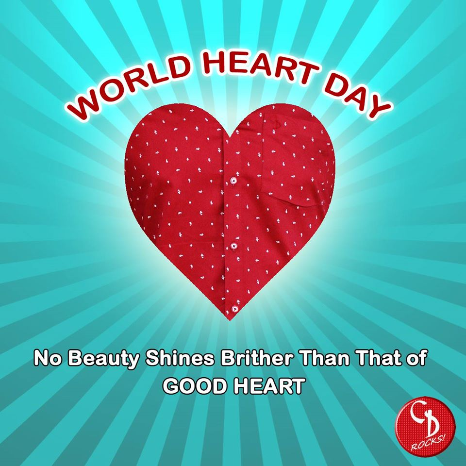 World Heart Day Wishes Beautiful Image