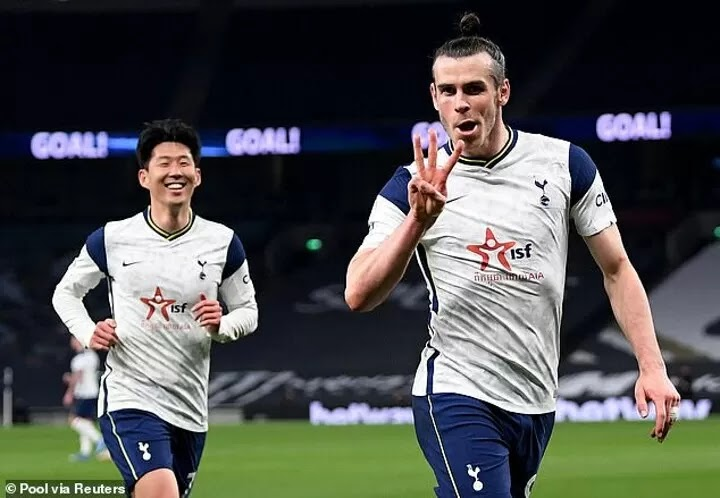 Bale 'happy' with Tottenham's attacking style after hat-trick against Sheffield