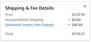 Shipping & Fee Details
