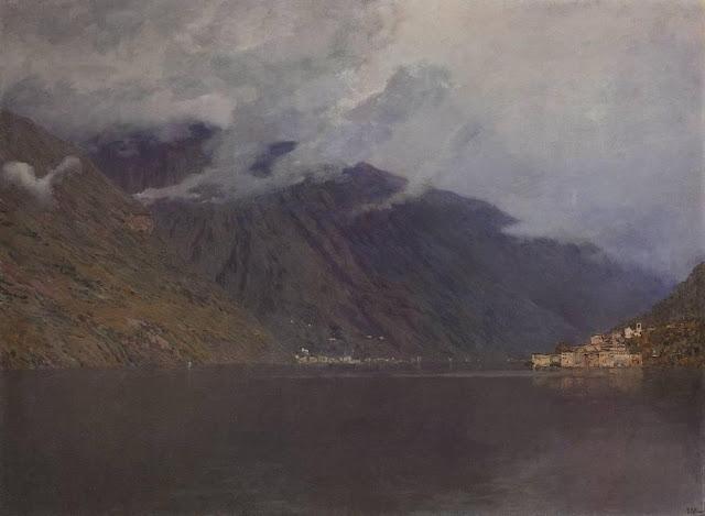 Исаак Ильич Левитан - Озеро Комо (3). 1894