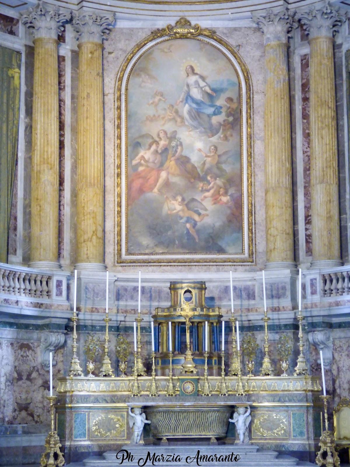 Cappella Palatina Reggia di Caserta