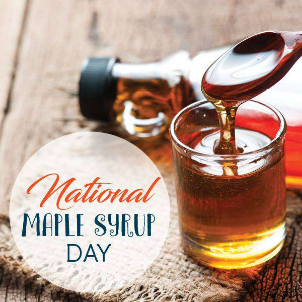National Maple Syrup Day Wishes Unique Image