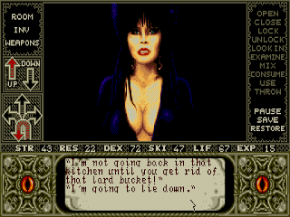 Videojuego Elvira Mistress of the Dark 1990
