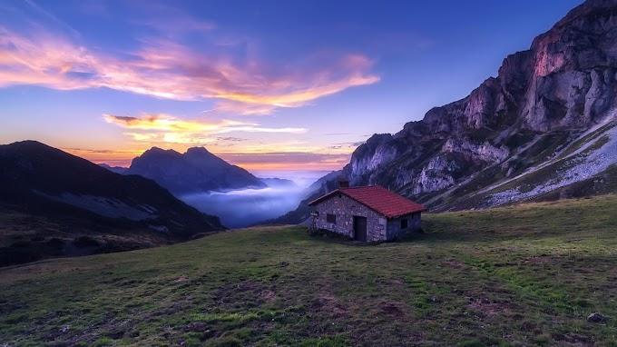 Casa Pequena nas Montanhas