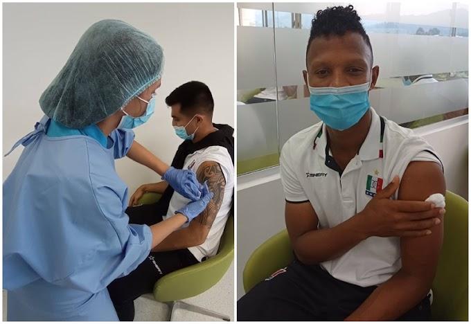 Uno más a la lista: Continúan los equipos del fútbol colombiano inmunizándose contra el COVID-19,  gracias a gestión del DEPORTES TOLIMA