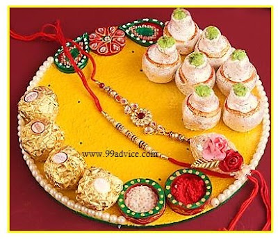 Easy Ideas To Decorate Rakhi Thali