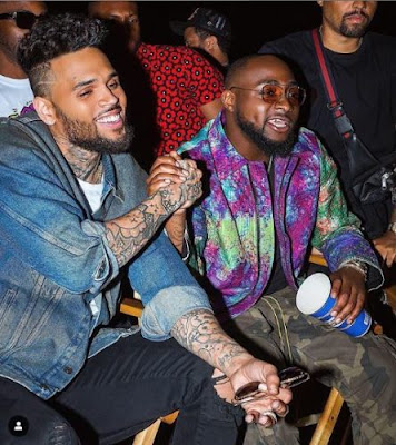 New Video : Davido x Chris Brown - Blow My Mind
