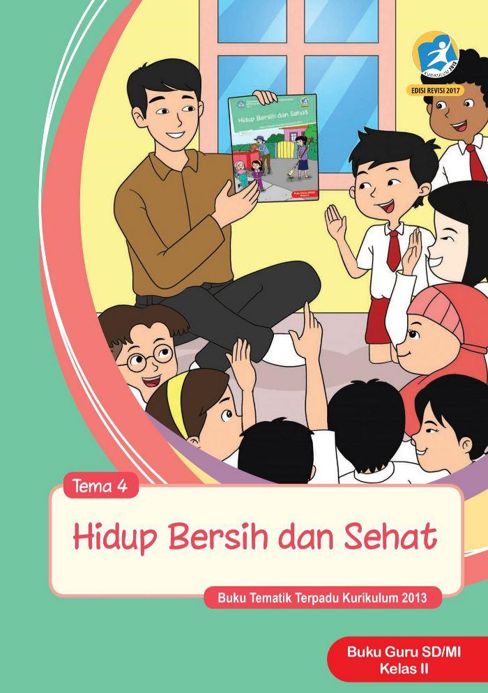 Buku Guru Tematik SD Kelas II Tema 4 Hidup Bersih dan Sehat