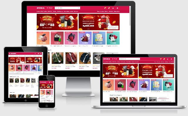 Sukses Jualan Online Menggunakan Template Blog Mirip Tokopedia & Bukalapak