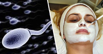 Skin treatment using semen facial is becoming popular in the beauty industry.