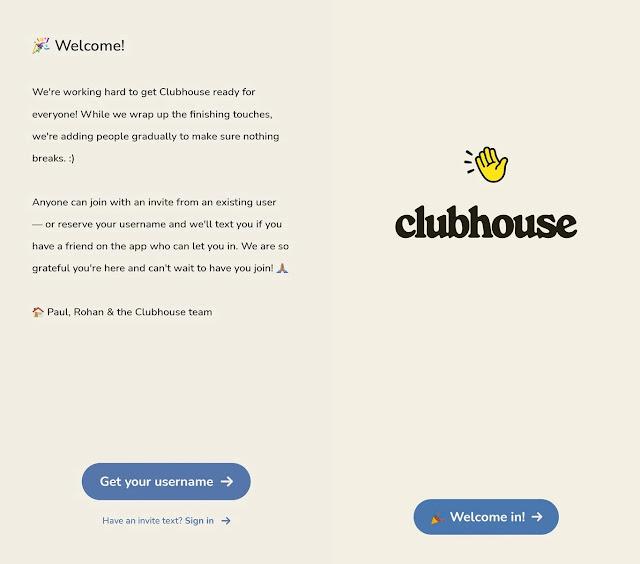 Clubhouse بلا حدود: لم تعد بحاجة إلى دعوة لفتح حساب
