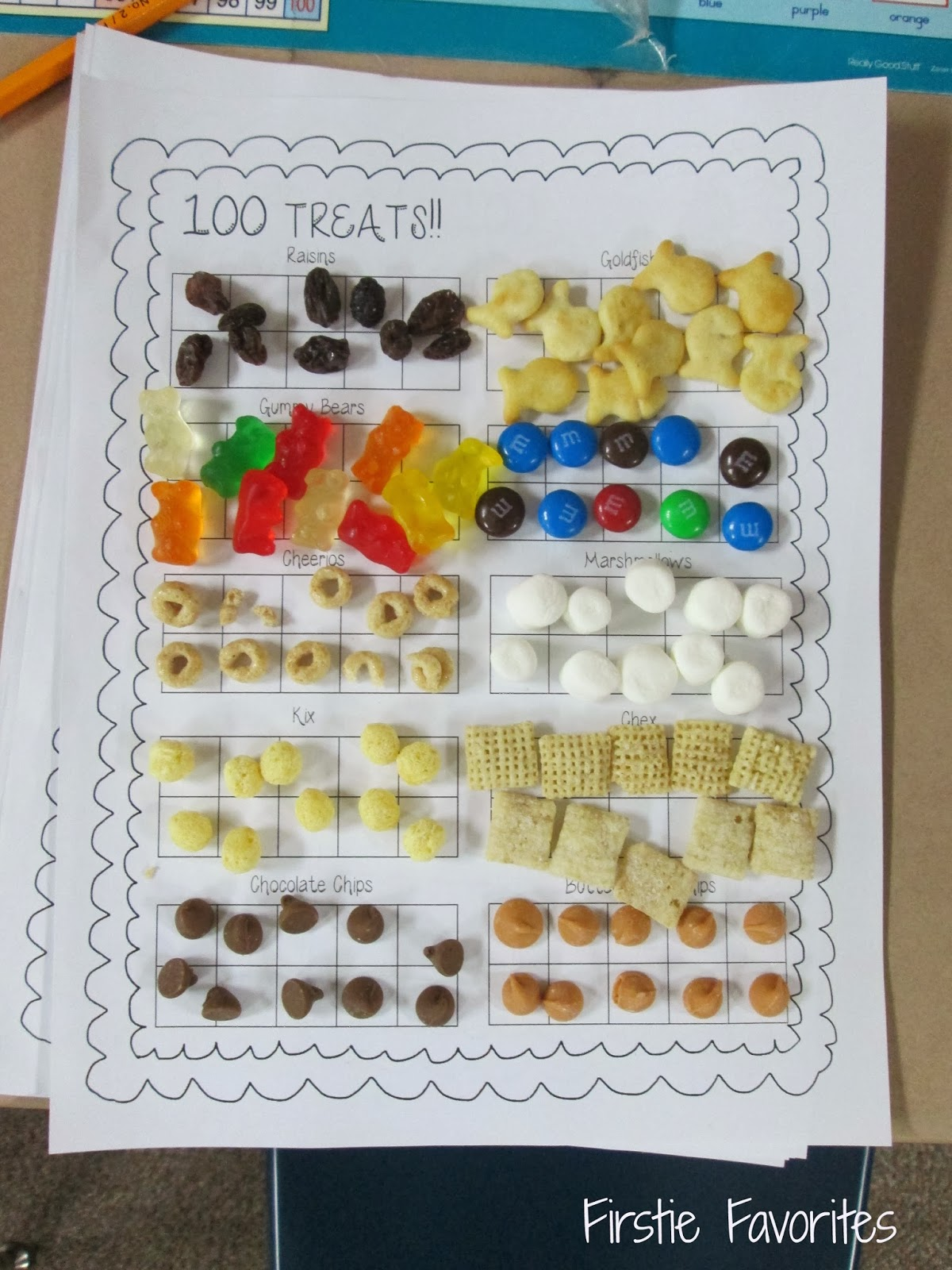 Firstie Favorites 100th Day Hooray