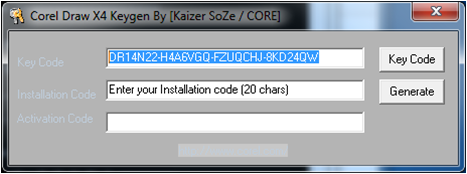 coreldraw x4 keygen kaizer soze core